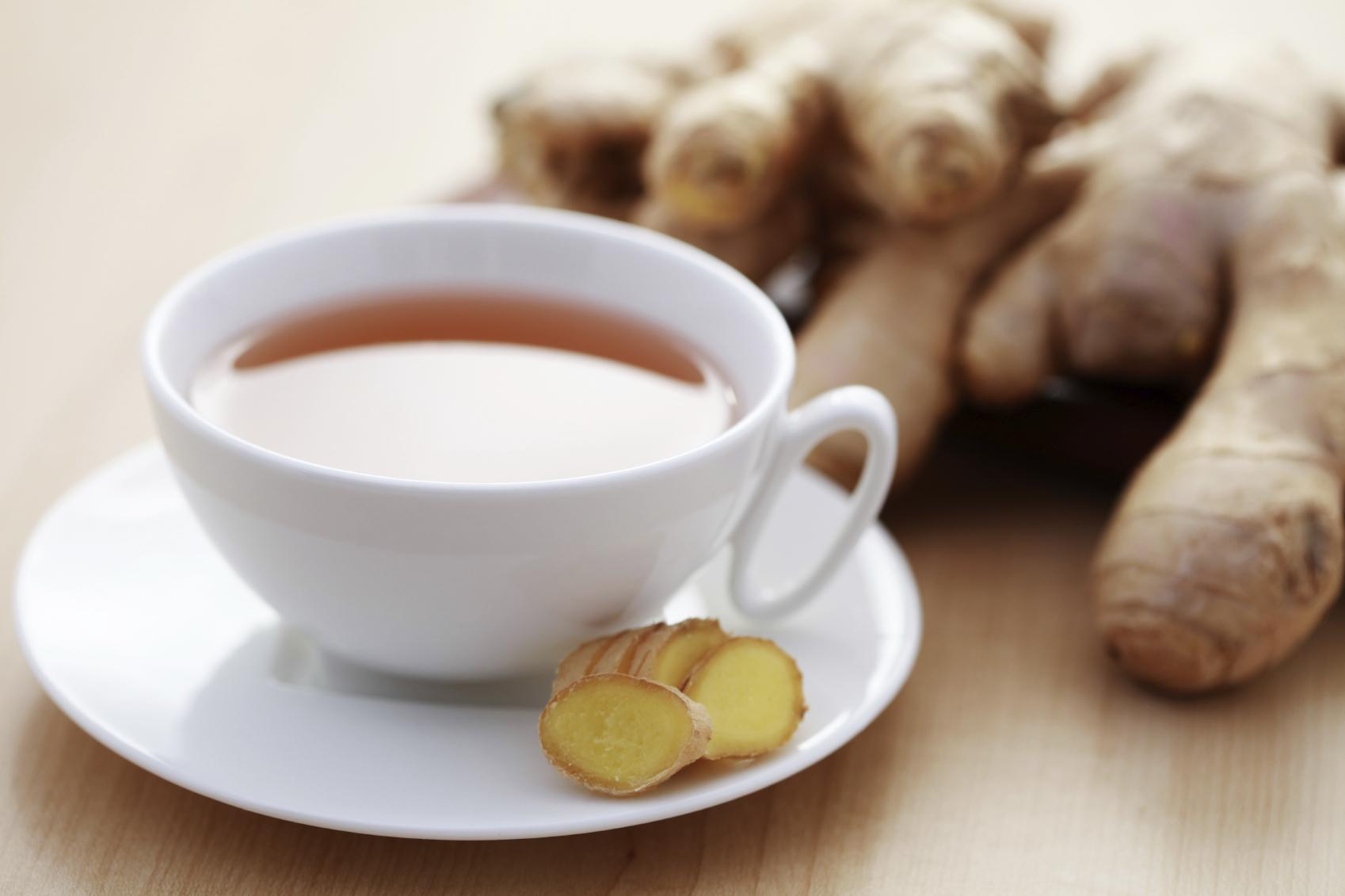 Рецепт чая с имбирем для похудения