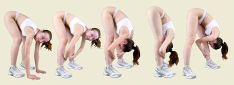 калланетика - упражнение для бедер