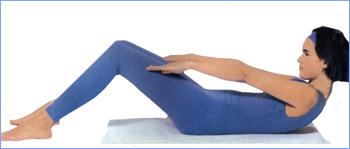 Калланетика упражнения для живота упражнение 1