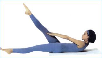 Калланетика упражнения для живота упражнение 2