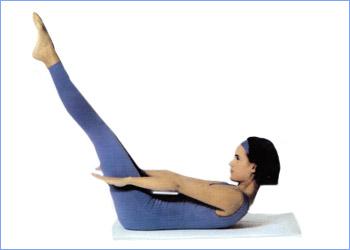 Калланетика упражнения для живота упражнение 3
