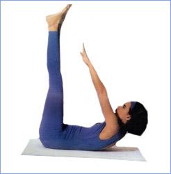 Калланетика упражнения для живота упражнение 4