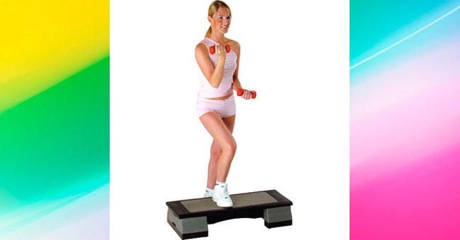 упражнения для ягодиц Степ-аэробика