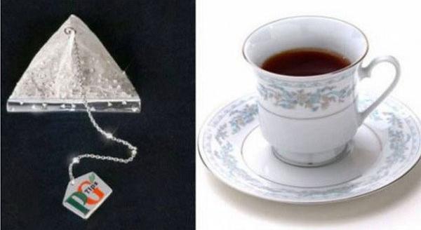 Чайный пакетик с бриллиантами PG Tips