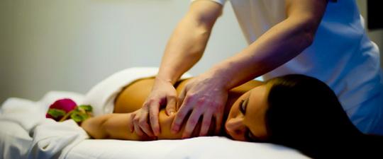 Техника (прием) растирание, поглаживание - массаж