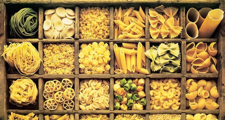 Виды и сорта итальянских макаронных изделий