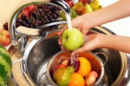 Как мыть фрукты?